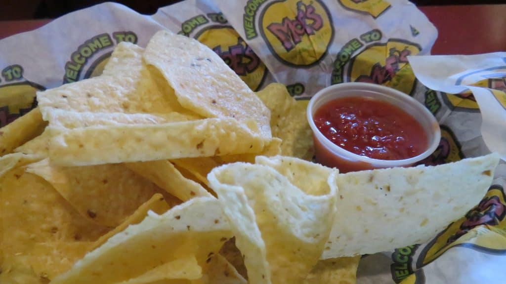 Moe's Chips and Salsa