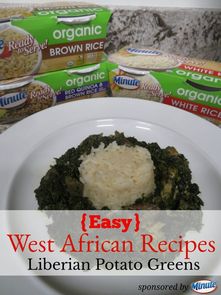 Check out this simple and easy traditional West African Recipe. Minute Rice Ready to Serve products make it more convenient.  These new Minute® Ready to Serve products include Minute Ready to Serve Organics, White & Red Quinoa, and gluten-free Multi-Grain Medley. Each of these are certified organic by the USDA, gluten-free and preservative free.  AD
