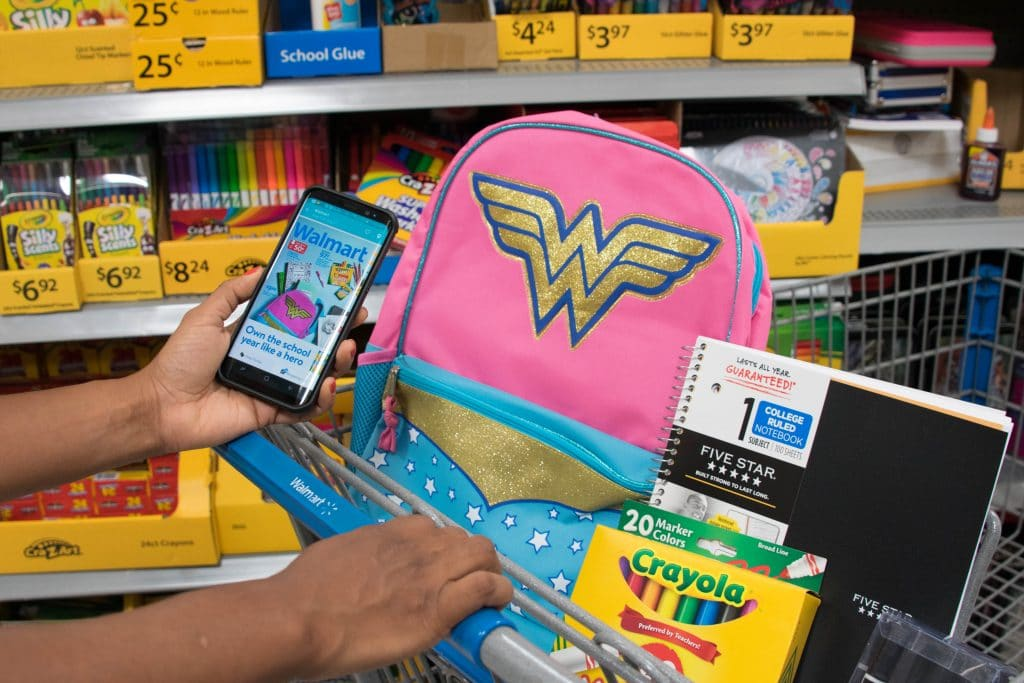 back to school shopping with the Flipp App