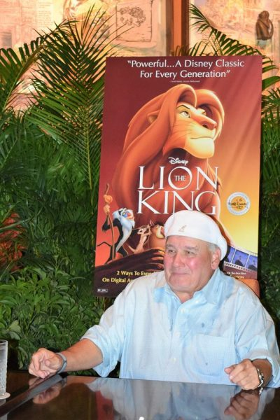 That one time my girls got a message from Pumbaa from The Lion King #LionKingBluRay