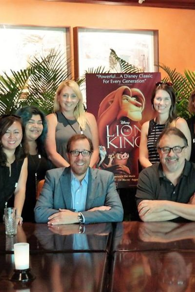 A Hero's Journey: Don Hahn & Rob Minkoff reflect on my daughter's most pivotal moment from The Lion King #LionKingBluRay