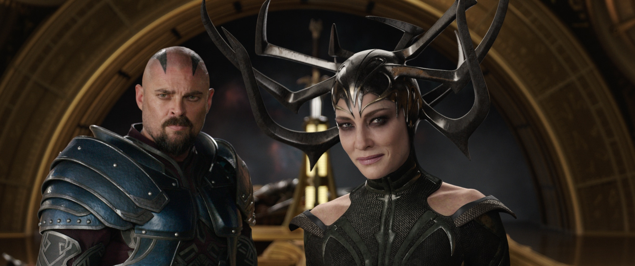 """In Marvel's Thor: Ragnarok, Karl Urban portrays the iconic character of Skurge, widely popular as """"the Executioner."""" See more interesting info here:"""