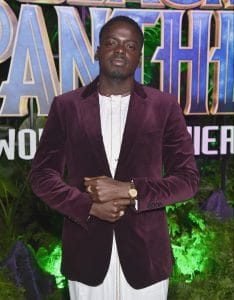HOLLYWOOD, CA - JANUARY 29: Actor Daniel Kaluuya at the Los Angeles World Premiere of Marvel Studios' BLACK PANTHER at Dolby Theatre on January 29, 2018 in Hollywood, California. (Photo by Alberto E. Rodriguez/Getty Images for Disney) *** Local Caption ***