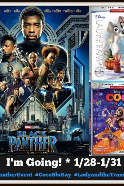 Just when I thought I couldn't get any more excited about Black Panther…#BlackPantherEvent!