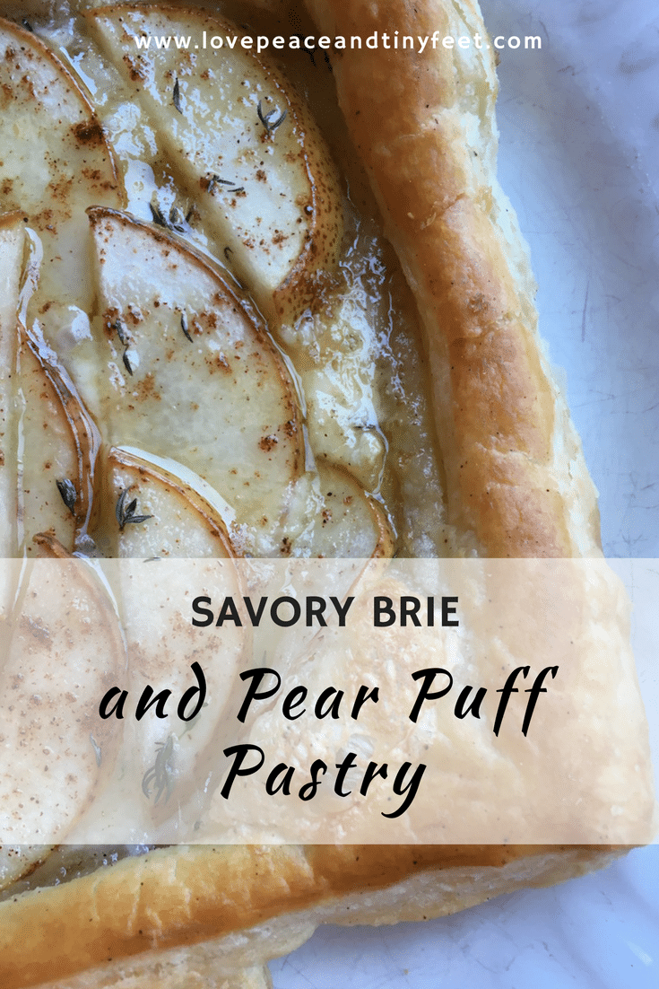 Savory Brie and Pear Puff Pastry is a perfect recipe with its combination of sweet and savory taste. This is an awesome and budget friendly recipe. Make your own now!