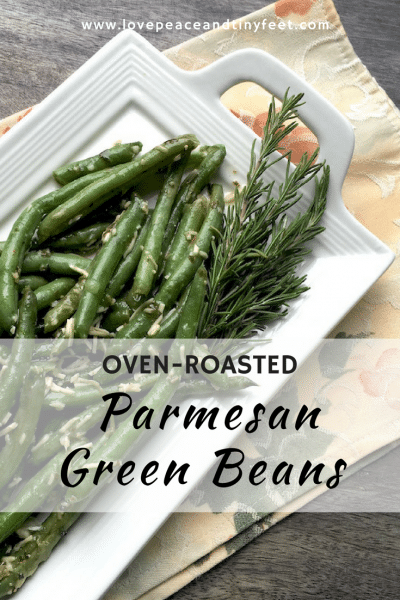 Oven-Roasted Parmesan Green Beans