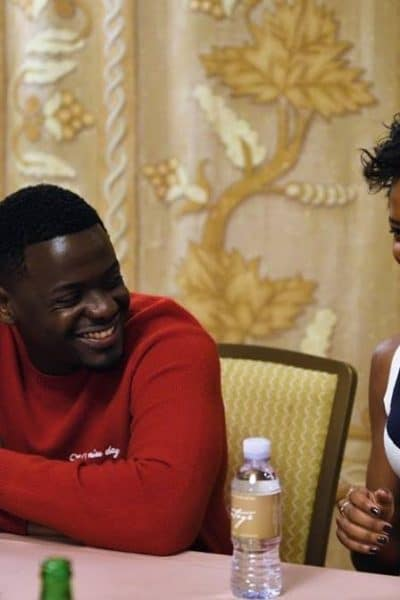 Daniel Kaluuya and Letitia Wright talk Black Panther, the Black Experience and the Impact on Girls Around the World. #BlackPantherEvent