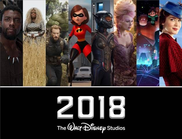 2018 Disney Movies are soon to come in almost all the theaters worldwide. Surely, this will give us again remarkable, interesting, amazing and award winning movies. Check this out!
