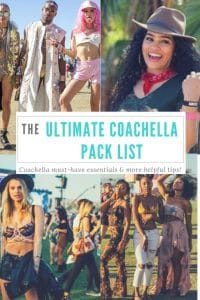 The Ultimate Coachella Packing List and More Coachella Tips! {Guest Post}
