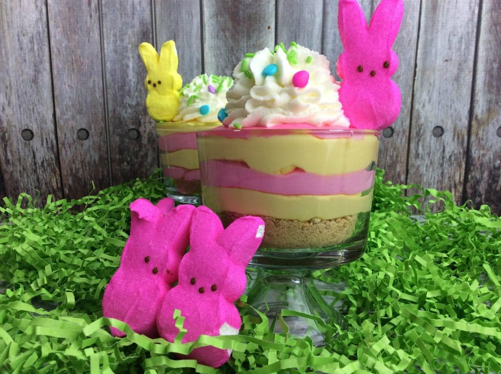 If you're looking for a simple Easter Dessert recipe, try this easy cheesecake made with peeps candy. This will surely be loved by kids this Easter Sunday. Check this out to see the simple ingredients and instructions given.