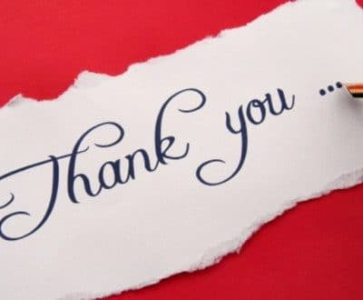 "365 days of  ""Thanks"""