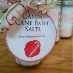 DIY Christmas gift ideas: Candy Cane Bath Salts & Oatmeal Cookie Bath Soak