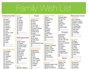 Getting Organized: Meal Planning
