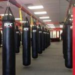 UFC Gym kicking bags