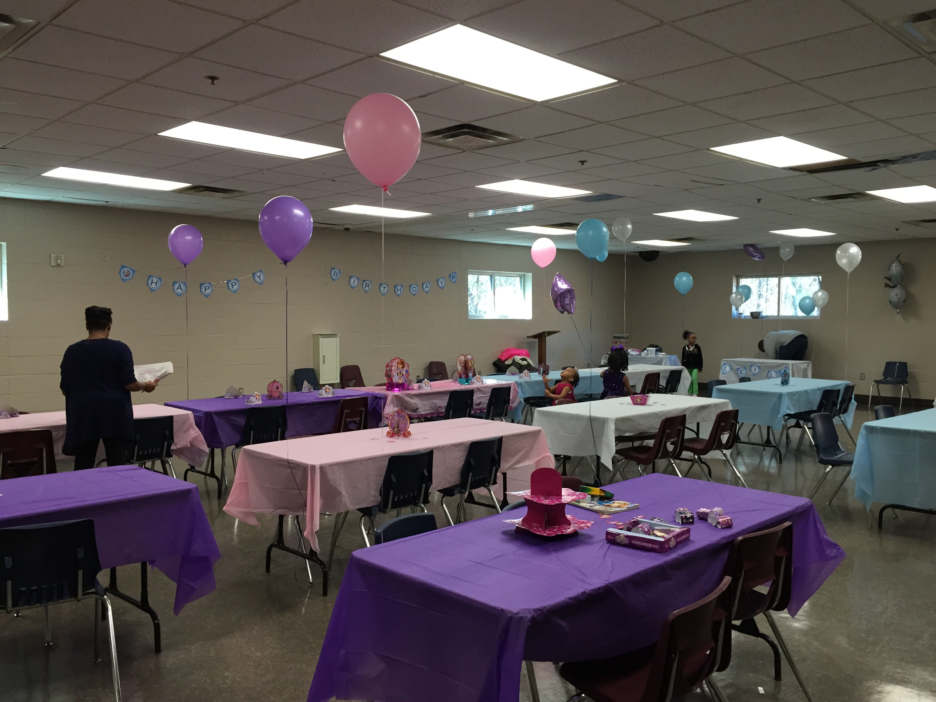 joint birthday party decorations