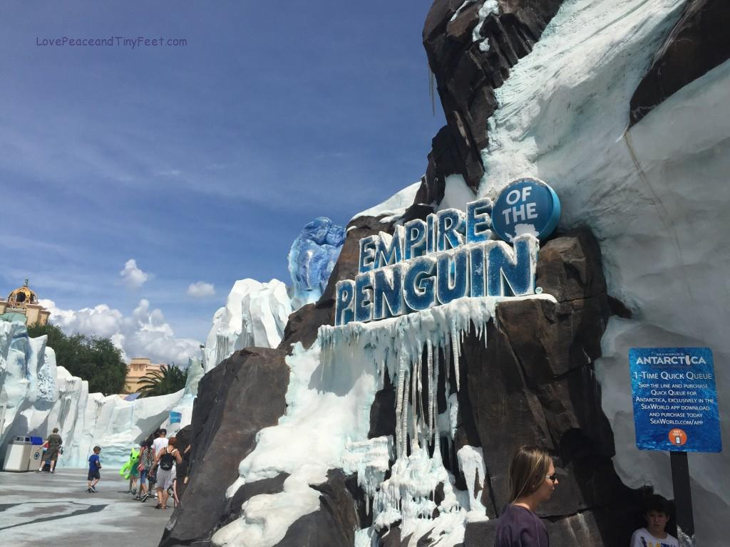 Empire of the penguin at Sea World