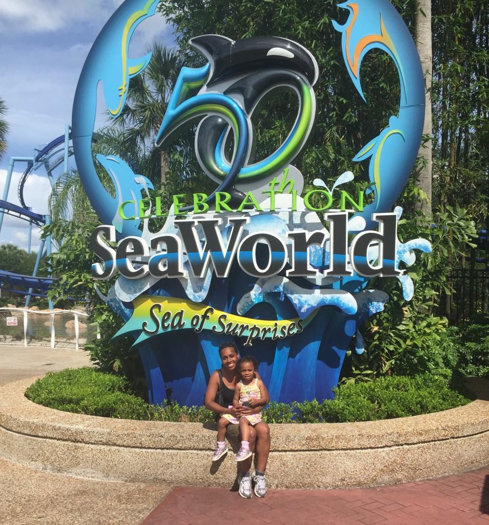 Sea World family