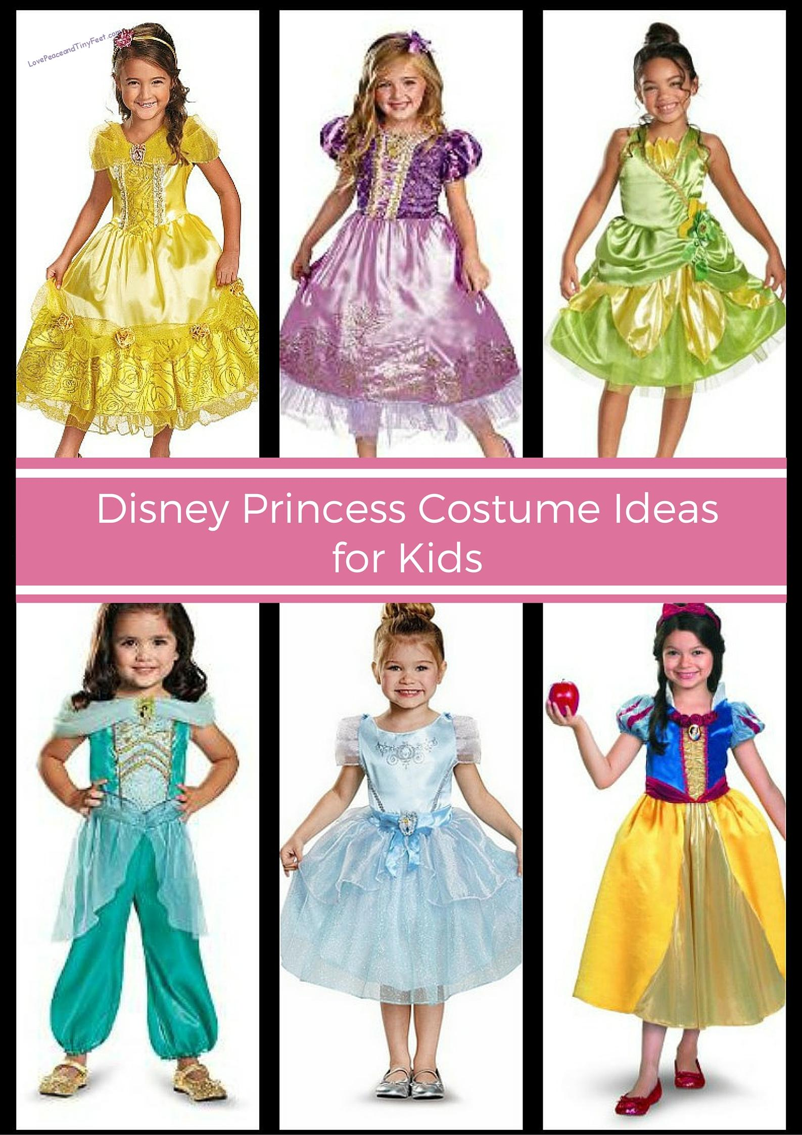 33 Disney Princess Costumes for kids - If youu0027re looking for Disney Princess Costumes  sc 1 st  Love Peace and Tiny Feet & Disney Princess Costumes for Girls