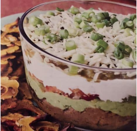 Seven Layer Dip Appetizer by Virginia Willis - Perfect for Holiday Entertaining!