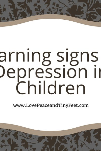 Warning Signs of Depression in Children: Knowing these can save a life!