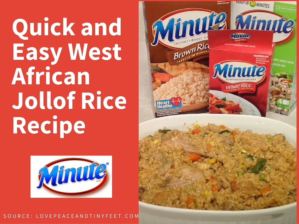 West African Dish - Jollof Rice Recipe