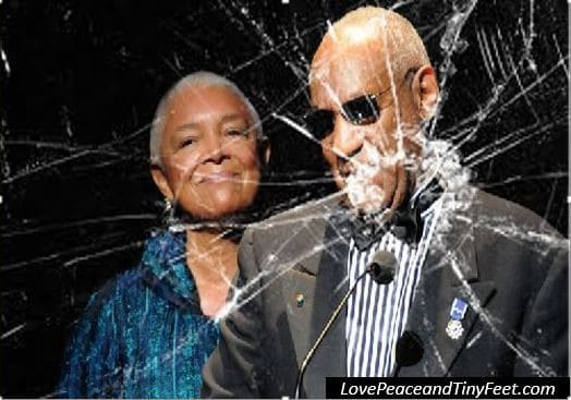 Shattered Bill and Camille Cosby