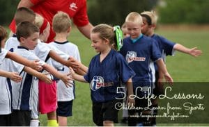 5 Life Lessons Children Learn through sports - i9 Sports