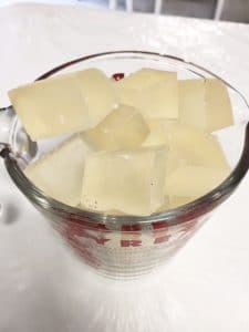 melt and pour soap chunks