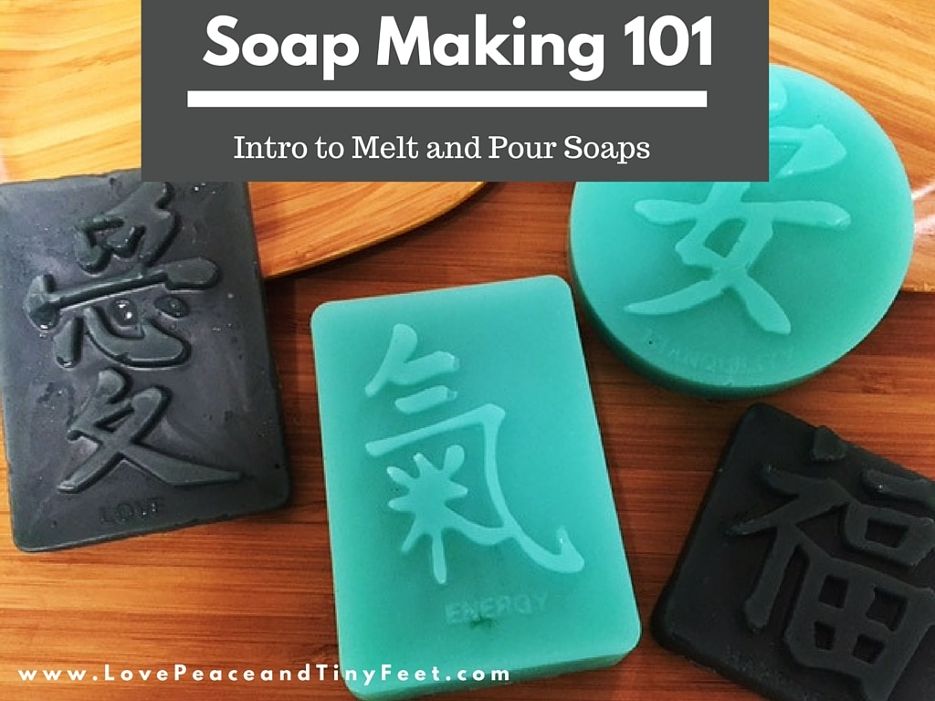 Soapmaking 101 Intro to Melt and Pour Soaps