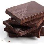 dark chocolate caffeine