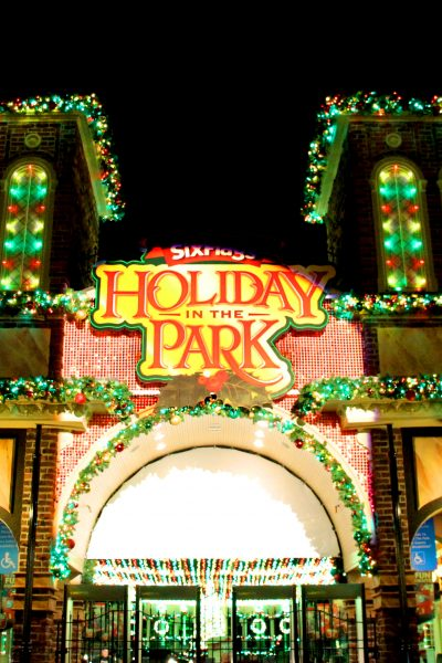 Holiday in the Park at Six Flags Over Georgia #NothingMerrier