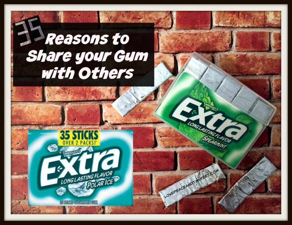 reasons to share your gum - extra 35 pack