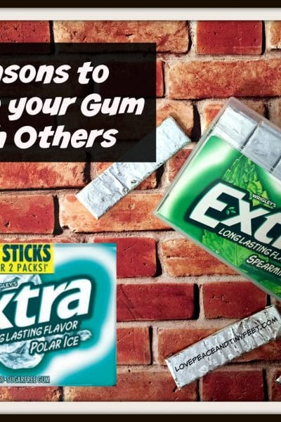 35 reasons to share your gum with others #GiveExtraGetExtra #Target