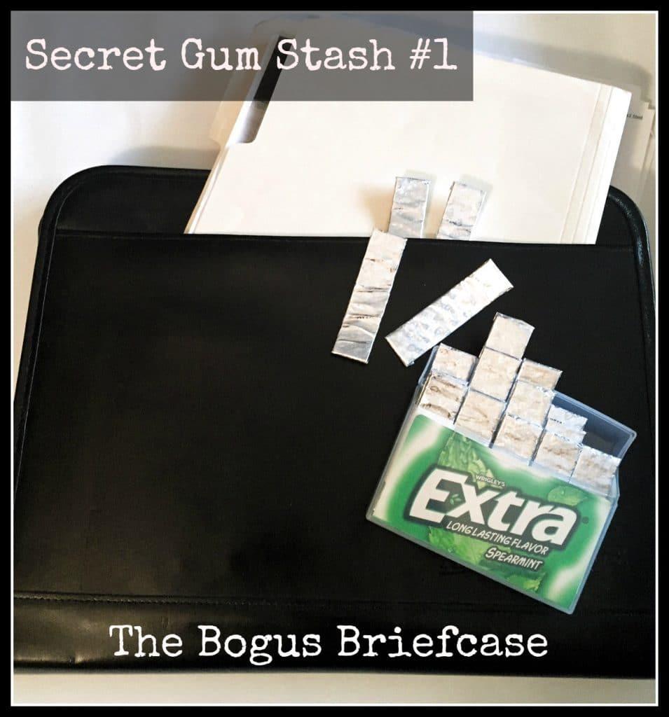 secret gum stash