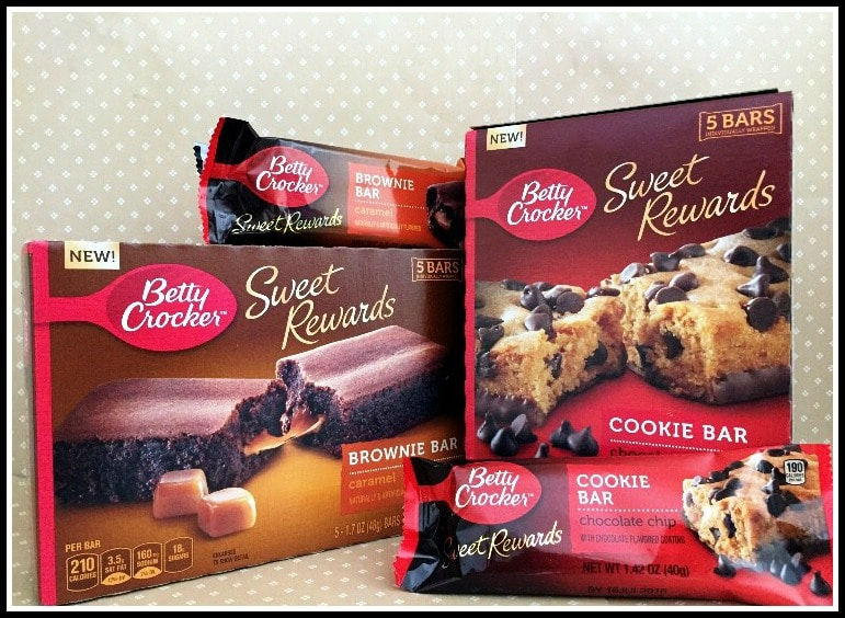 betty crocker sweet rewards bars