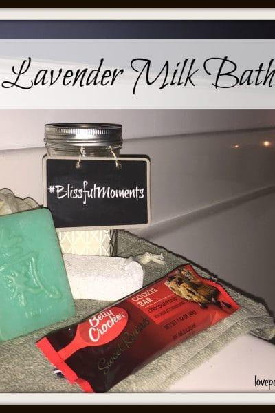 Easy DIY Milk Bath Recipe and other sweet indulgences
