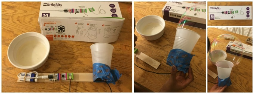 LittleBits Invention Bubble Blower