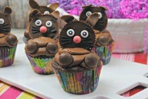 chocolate easter bunny cupcakes recipe