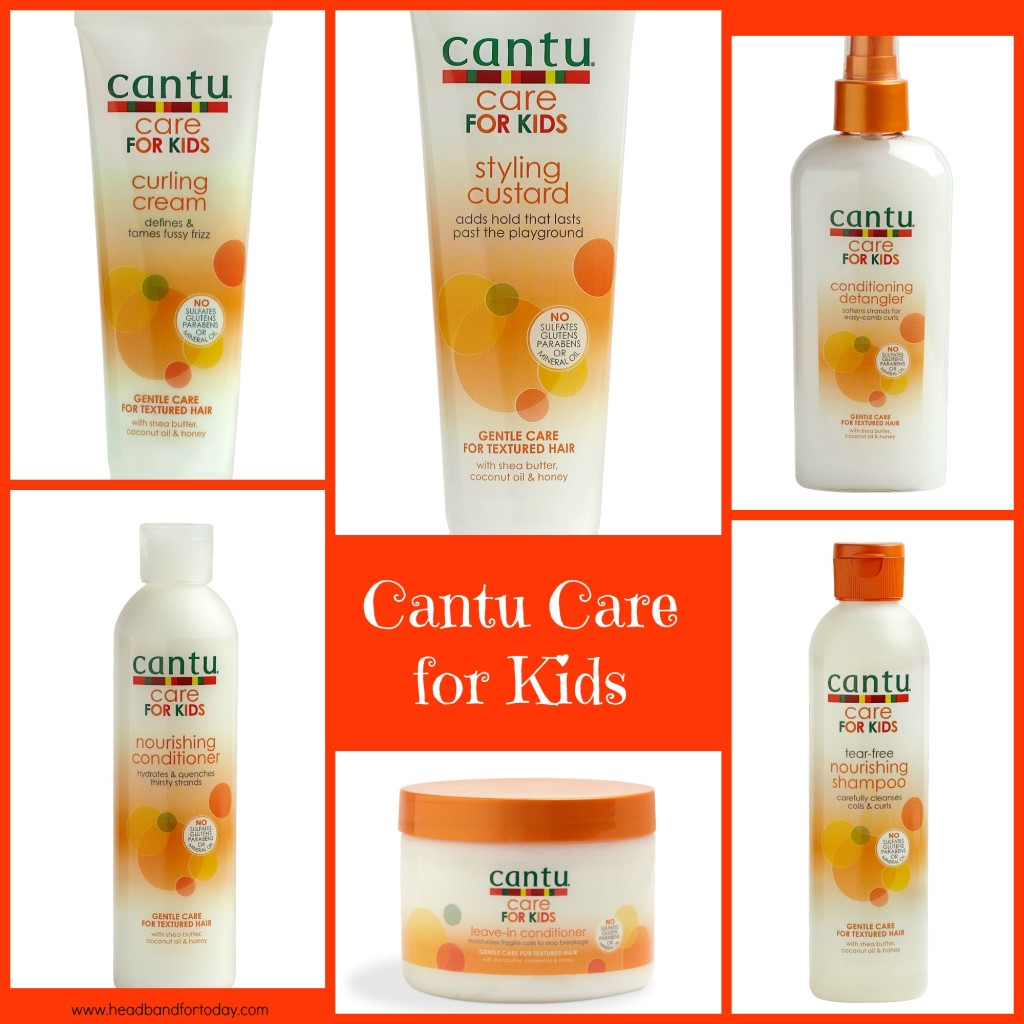 Cantu natural hair care products for kids