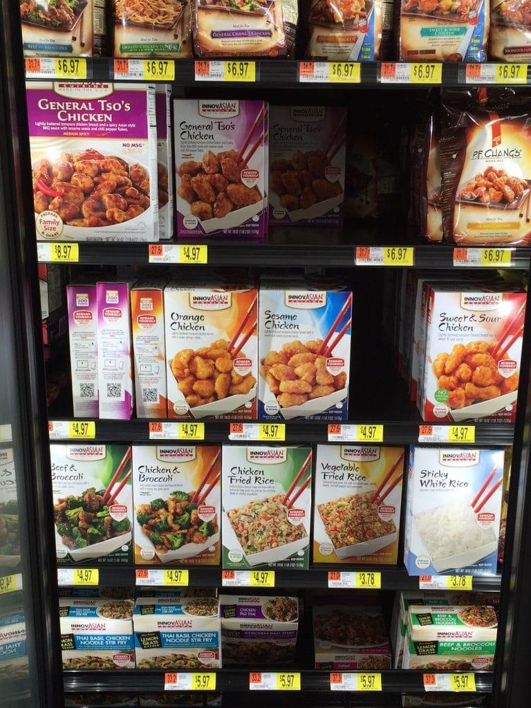 InnovAsian meals at Walmart