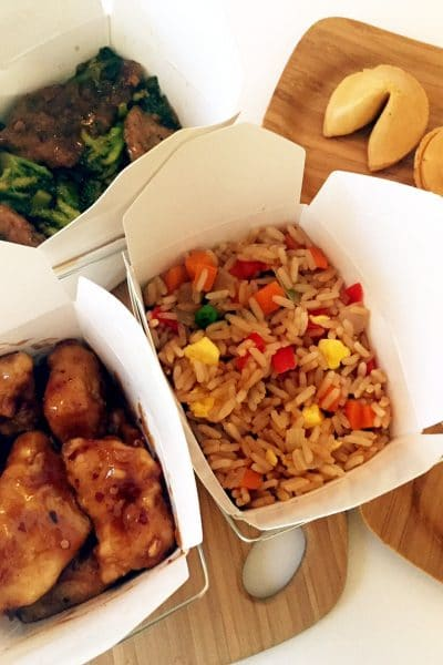 How To Create Your Own Takeout at Home + DIY Fortune Cookie Recipe #NoTakeOutNeeded