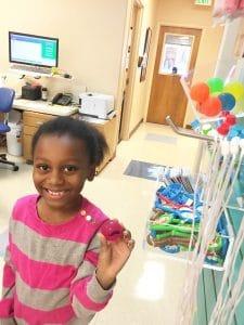 Leila at Dentistry for Children