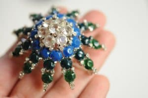 DIY Beaded Brooch