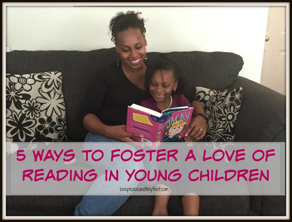 foster a love of reading in young children