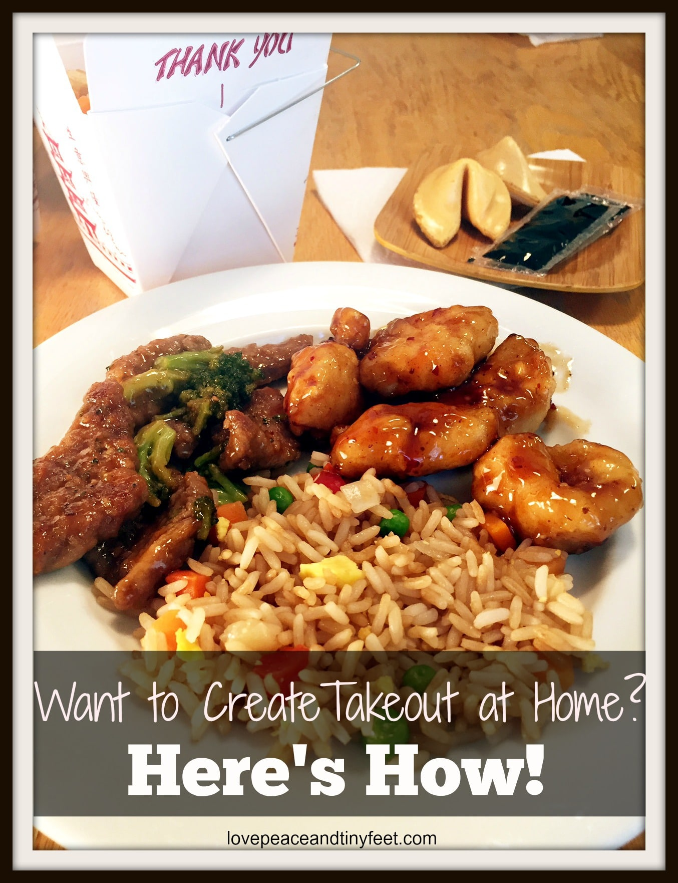 create takeout at home