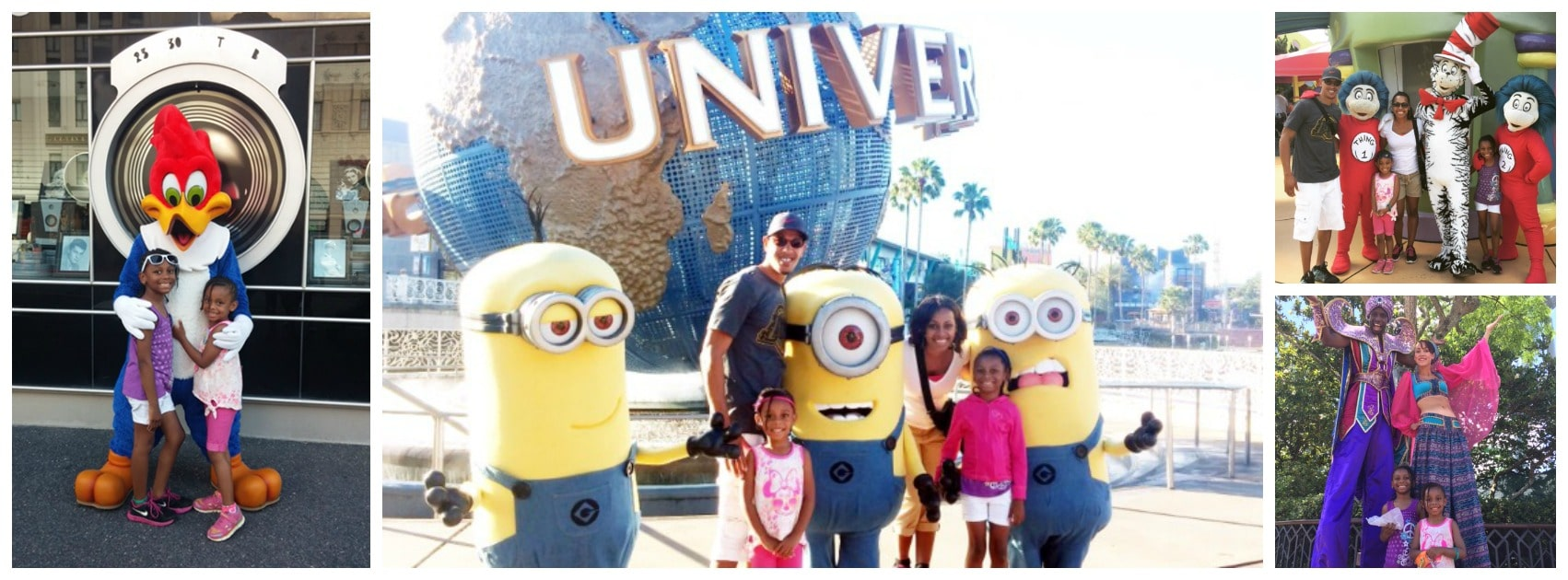 Adams Family Vacation to Universal Studios