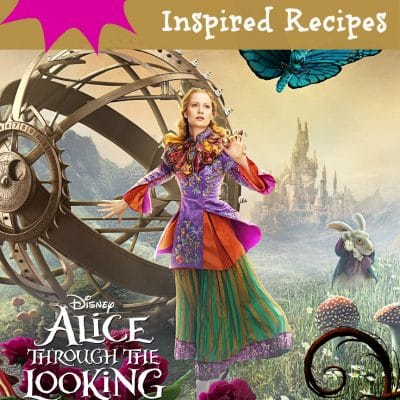 "Free ""Alice Through The Looking Glass"" Activity Sheets & Recipes! #ThroughTheLookingGlass"