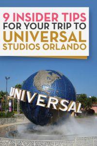Universal Studios Orlando Insider Tips World