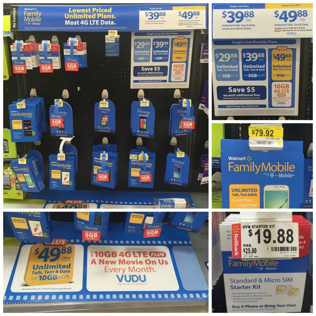 Where to find walmart family mobile plan