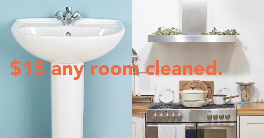 Wellkept cleaning service for $15 per room